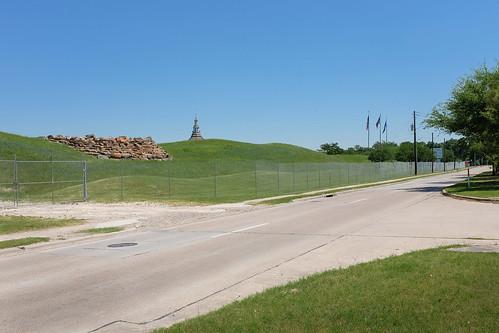 blue building grass green houston landscapeurban lines outdoor texas x100 church street flags
