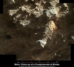 Mars: Close-up of a Conglomerate at Bimbe