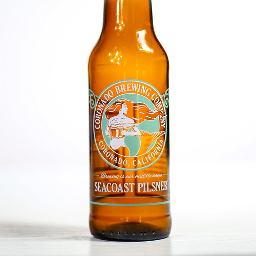 Pilsner Showdown Beers - Coronado Brewing Company - Seacoast Pilsner   by fourbrewers