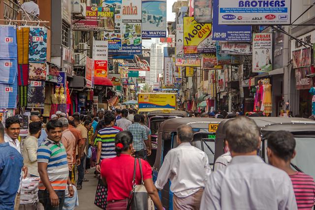 Bustling Streets of Pettah
