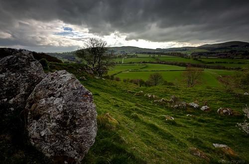 wales spring north range clwydian llanarmonynial