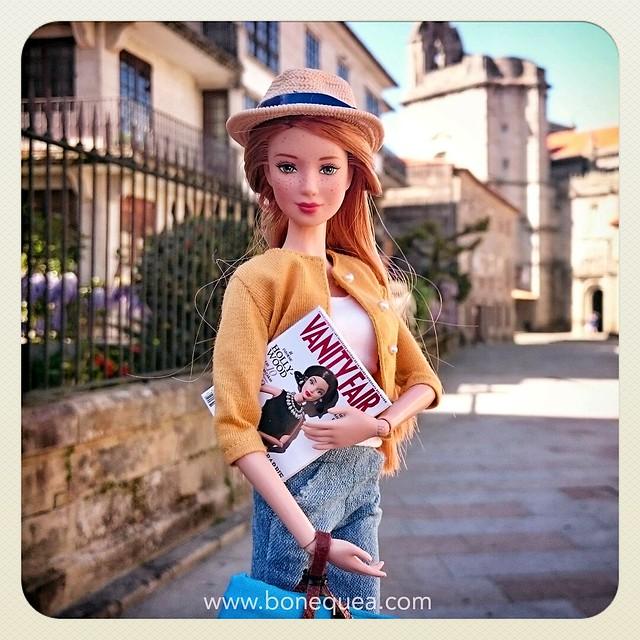 Barbie, Instagram & Pontevedra. 11/04/2015