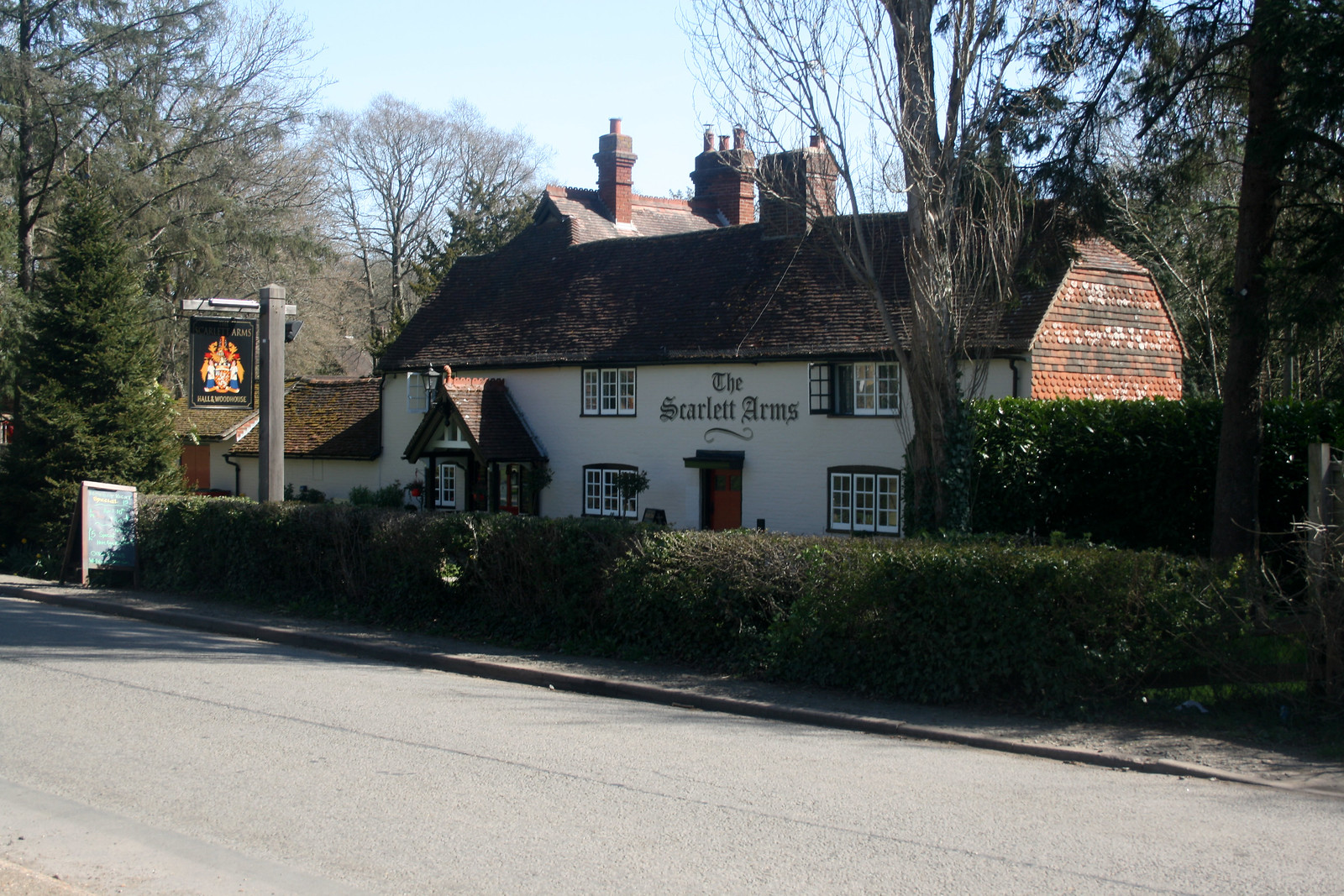 The Scarlett Arms, Walliswood