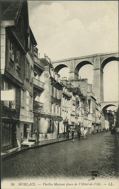 Morlaix, Bretagne, 1968