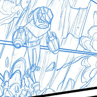 It's been far too long since I've had a chance to do this!  #boulderandfleet #comics   by Jerzy Drozd