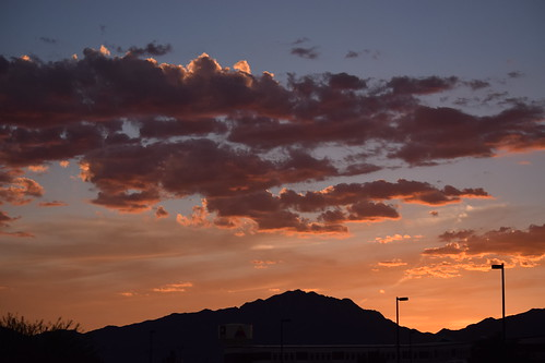 sunset el paso texas franklin mountains fort bliss