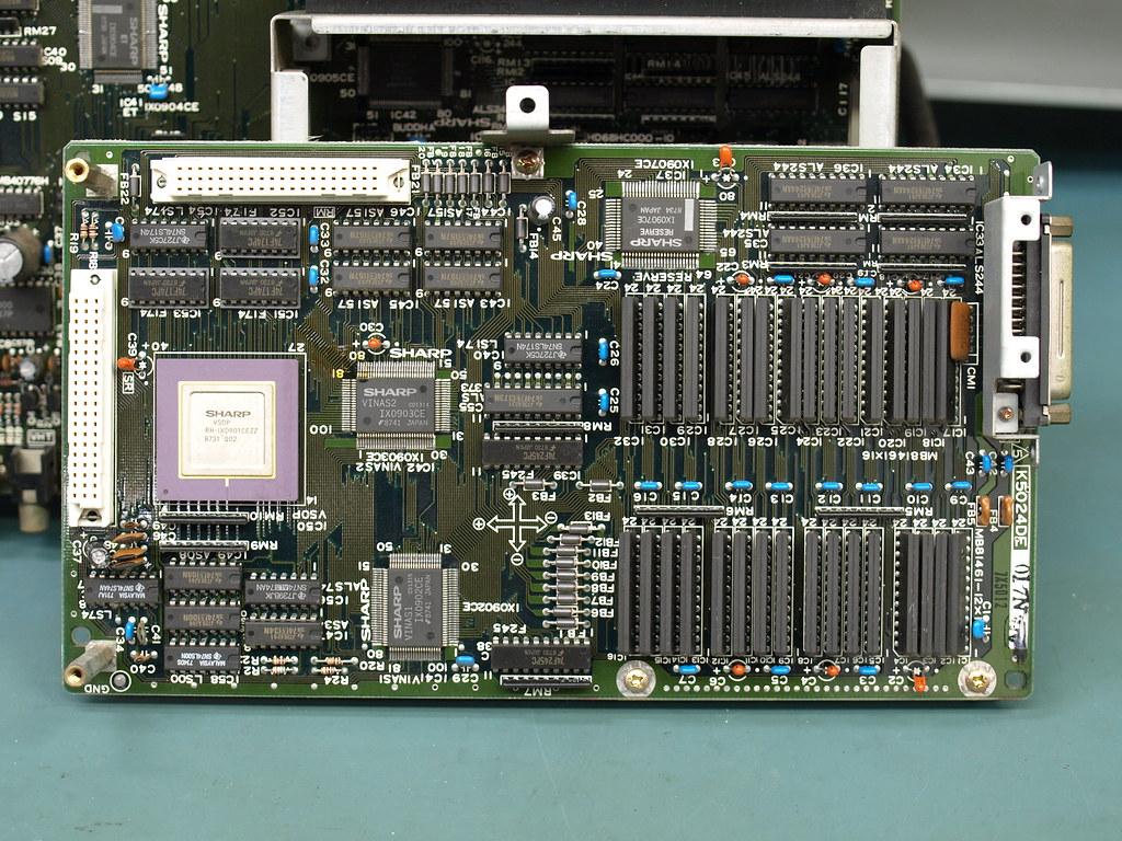 Sharp X68000 Personal Computer Teardown