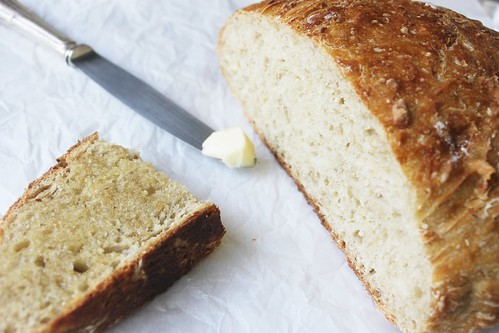 No-knead oatmeal bread-IMG_7180 | by LifesLittleSweets