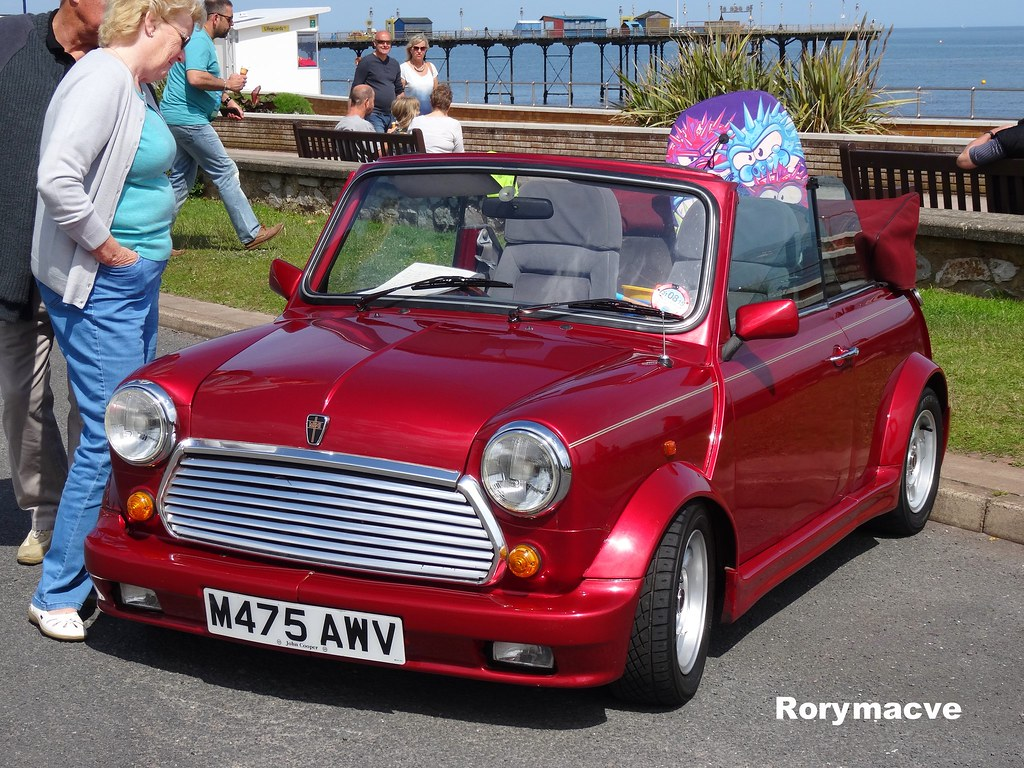 1994 Rover Mini Cabrio Here We Have It One Of The Most Ic Flickr