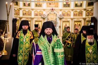 Божественная Литургия в д.Леохново 160