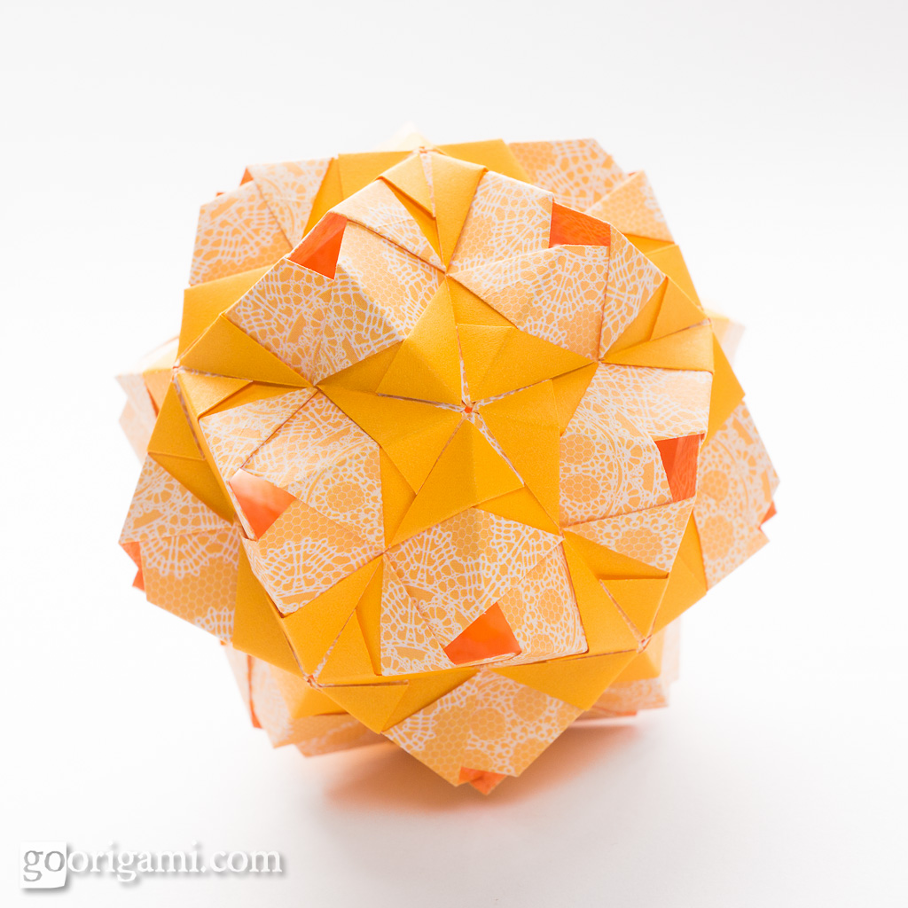 30 Absolutely Beautiful Origami Kusudamas | 1024x1024