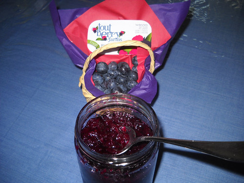 Tout Berry Blueberry Home Made Jam a May 10, 2014 | by toutberryfarms