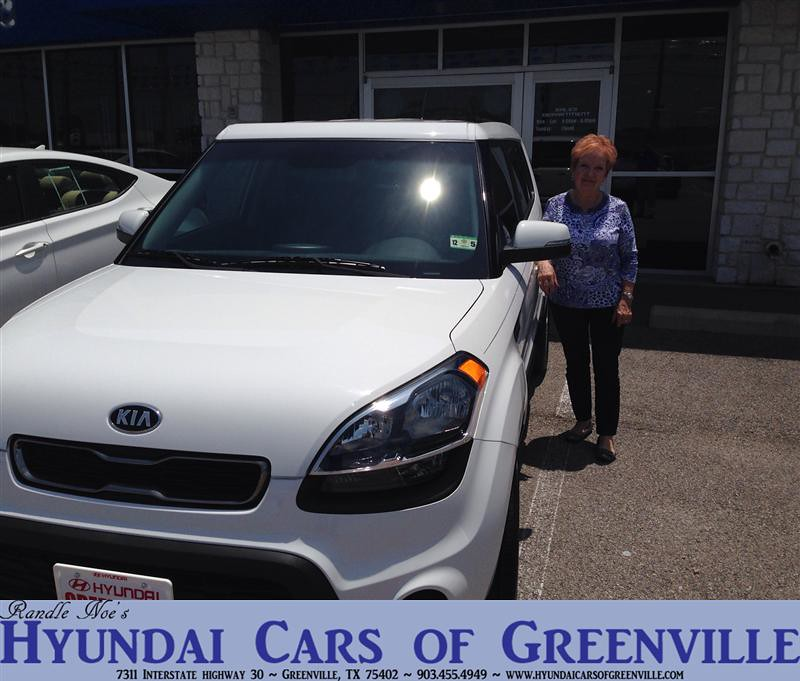 Hyundai Greenville Sc: Congratulations To Donna Ray On Your #Kia #Soul From Ben O