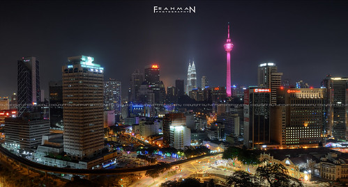 travel architecture night buildings landscape nikon scenery cityscape nightscape kualalumpur nikond90 flickraward nikonmalaysia frahmanpixel