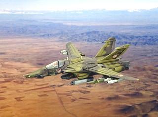 "Macross +++ 1:100 Stonewell/Bellcom VFA-1J ""CAS Valkyrie""; aircraft '36 Red' of the SVA-217 (Whif/Arii kit conversion) | by dizzyfugu"