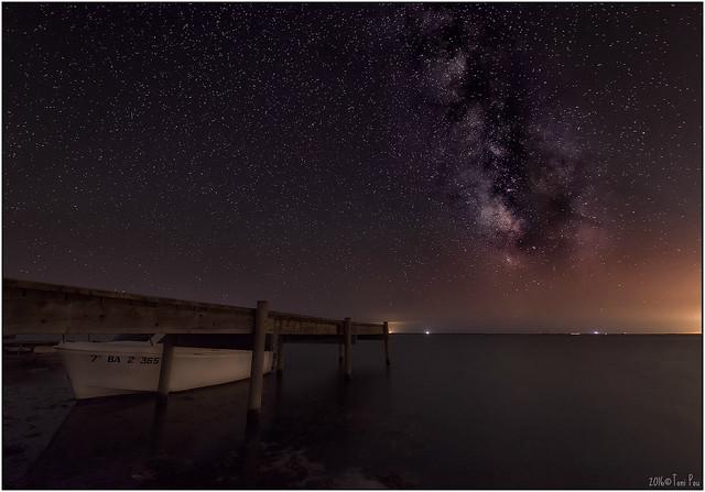 Delta at night