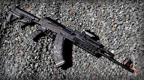 AK-47 Rifle Skin Kalashnikov