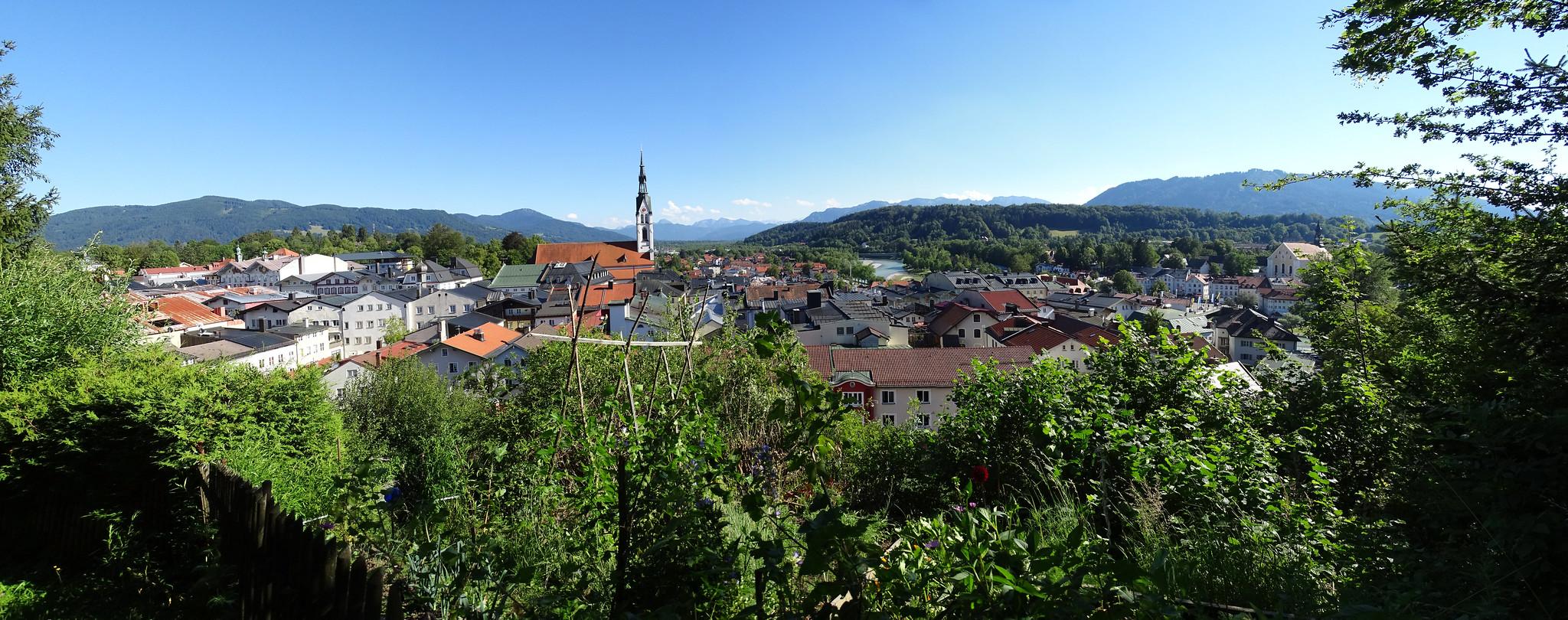 vista de Bad Tolz Baviera Alemania