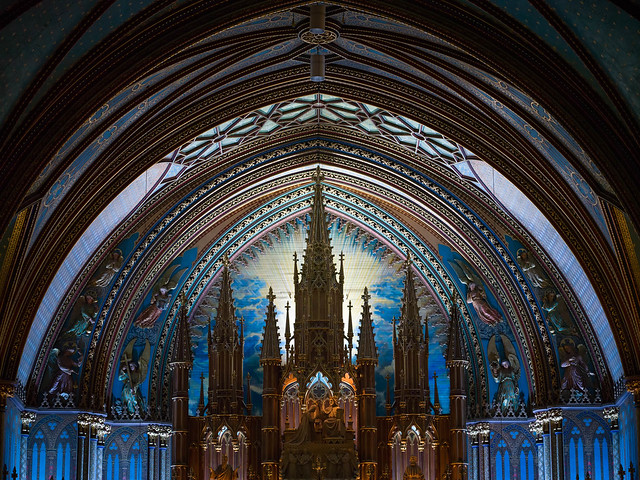 Basilique Notre-Dame du vieux Montréal / Notre-Dame Basilica of Old Montreal