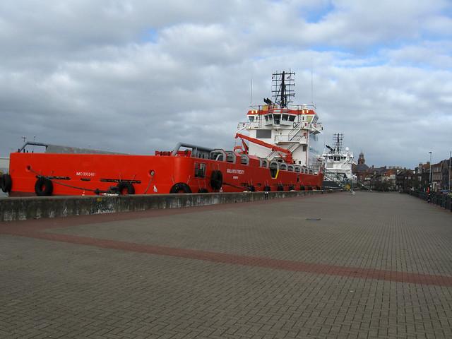 Great Yarmouth docks