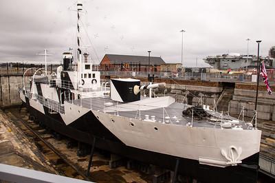 M33 In Dry Dock