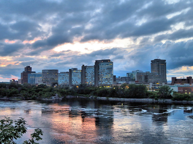 Sunset, Ottawa, Ontario, Canada