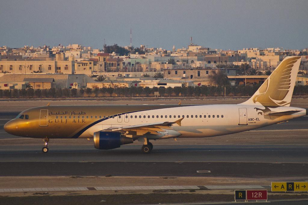 GULF AIR A320 A9C-EL