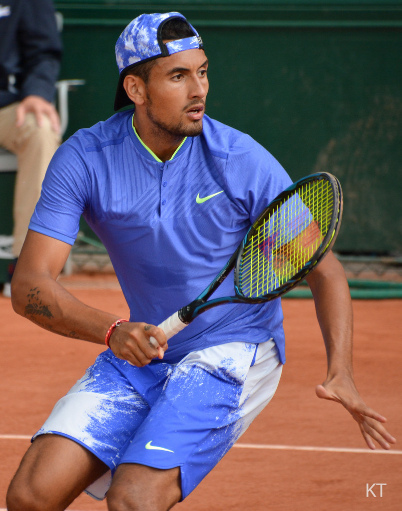 Nick Kyrgios   Round 2 doubles match with Jordan Thompson ag…   Flickr