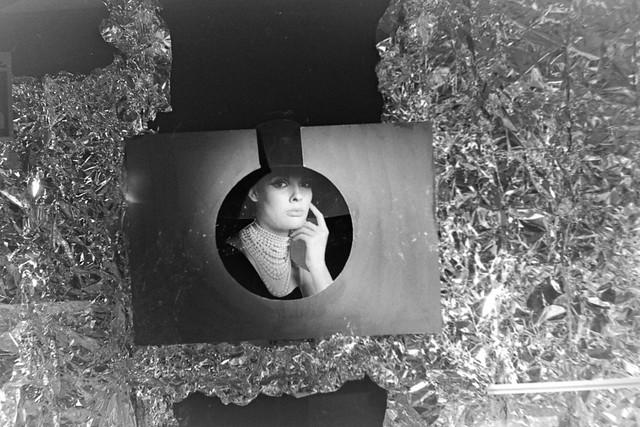 Archiv Schuh04 Schaufenster-Deko, Schlatholt Schuhe Bottrop, 1960er