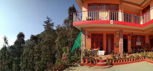 Besutiful Yoga Ashram in Himalaya