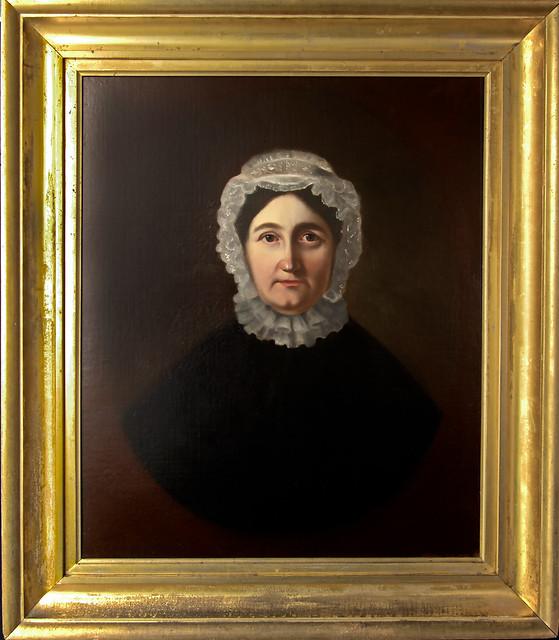 Restored portrait of Parnel Kelsey Munger