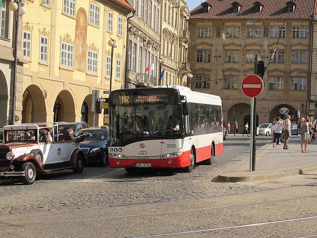 Solaris Urbino 8.9LE, #2032, DP Praha