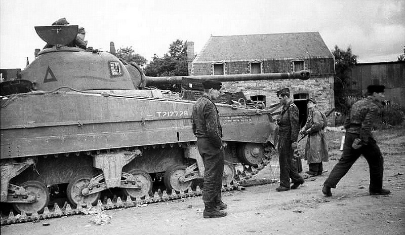 Sherman Firefly captured
