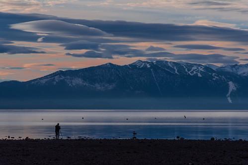 cloud lake nature sunrise landscape nikon tahoe d7100