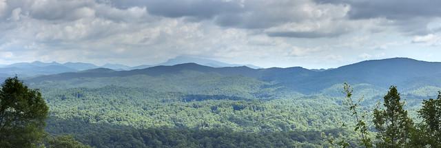 Table Rock Mountain Overlook, Blue Ridge Parkway, McDowell County, North Carolina 2