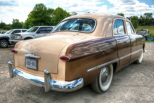 1949 ford sedan twotone hdr tonemapped