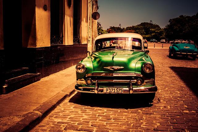 Chevy green