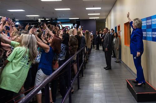September 21, 2016 - Orlando, FL.   by Hillary Clinton
