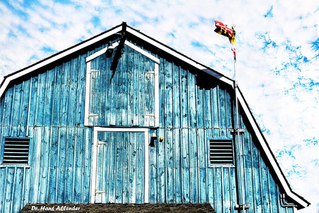 Blue barn, Maryland (On Explore 5/23/2015)