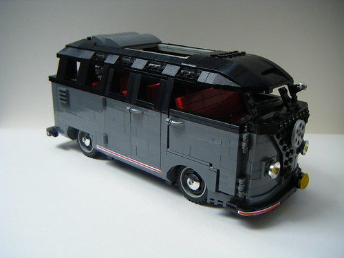 lego vw split screen barn door ( samba deluxe )