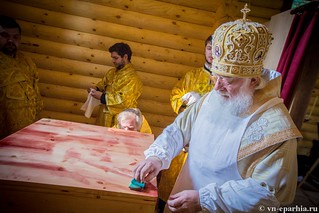 Освящение храма в Кремле 90