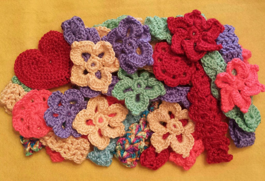 Crocheted Flowers And Headbands Donated By Alicia Flickr