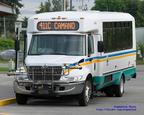 A Quick Snap of Island Transit Route 411C
