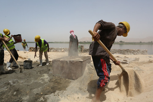 Egypt Emergency Labor Intensive project aims at creating short term employment opportunities | by World Bank Photo Collection