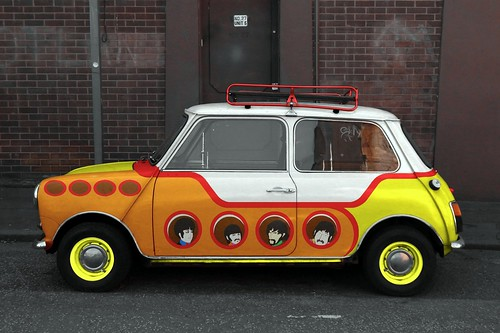 "Beatle's Yellow Submarine car  ""Yellow Submini"""