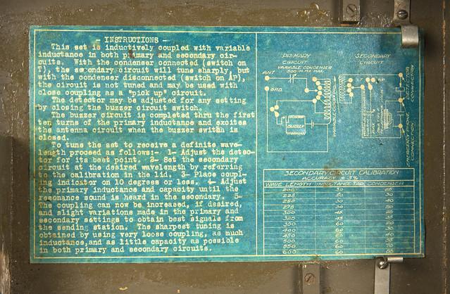 WWI battlefield crystal radio