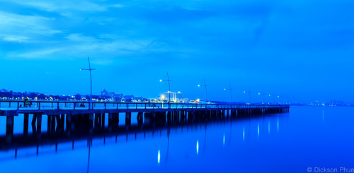 park nightphotography blue water night landscape photography woodlands singapore long exposure waterfront outdoor jetty tripod hour second 20 sec sg seconds