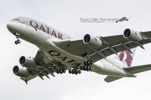 A380 - QATAR - A7-APC | by Florian Mallet Photo