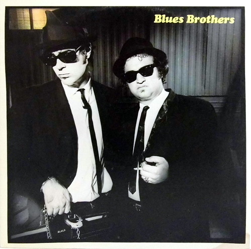 Vintage Vinyl LP Record Album - Briefcase Full Of Blues By The Blues Brothers, Catalog Number SD 19217, Chicago Blues, Atlantic Records, 1978