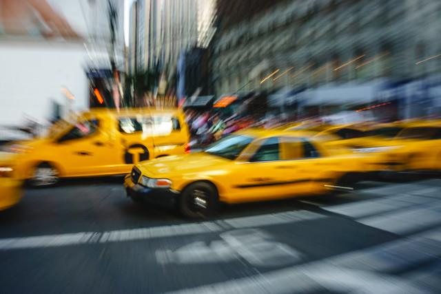 NYC Taxi Zoom Burst